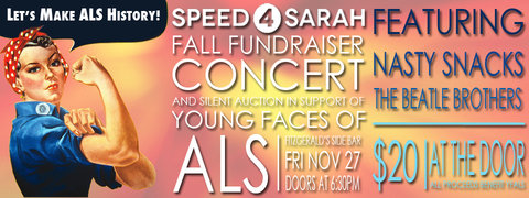 SPEED4SARAH: Fall Concert & Silent Auction