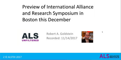 Preview of International ALS/MND Research Symposium